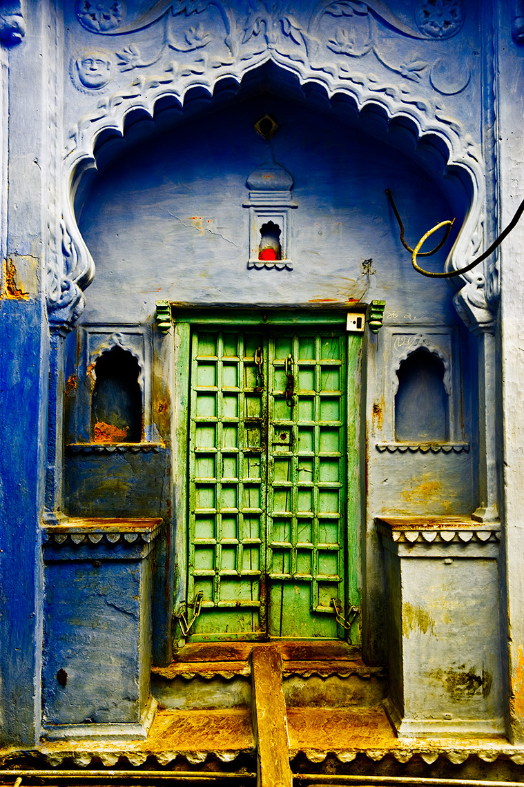 Door In Bundi, Rajastan, India