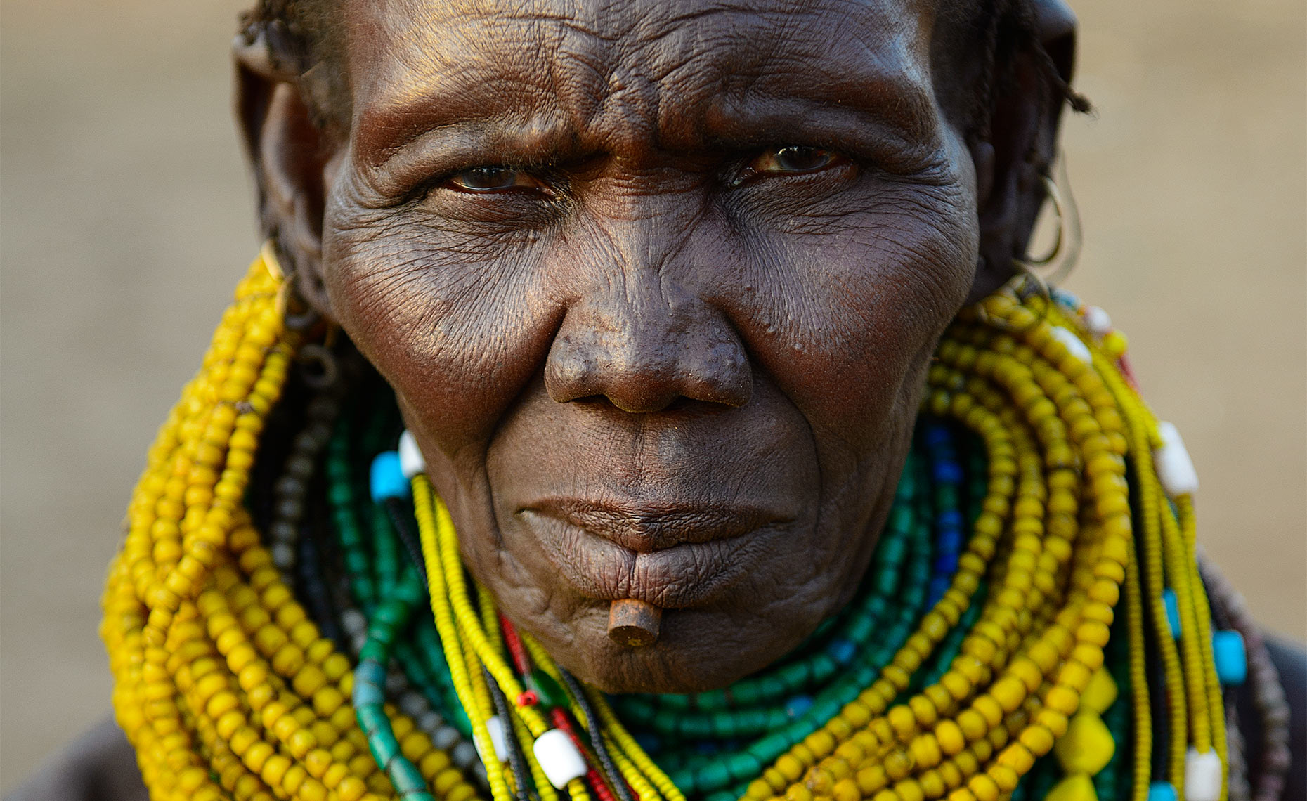 nyangatom tribe woman omo valley ethiopia