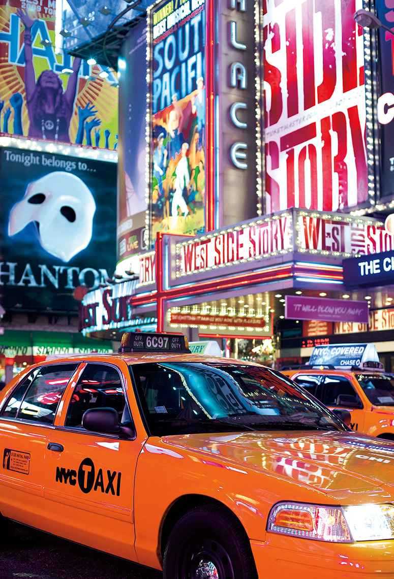 Times Square Taxi, New York City